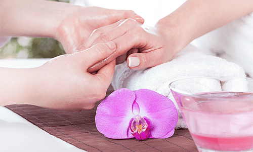 PARAFFIN-HAND-TREATMENT